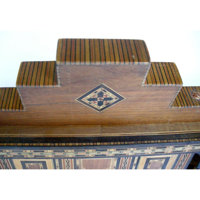 Levantine Syrian Inlay/Parquetry Bench For Sale - Image 9 of 11
