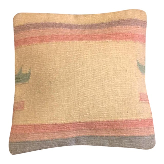 Dhori Indian Handmade Pillow Cover - Image 1 of 4