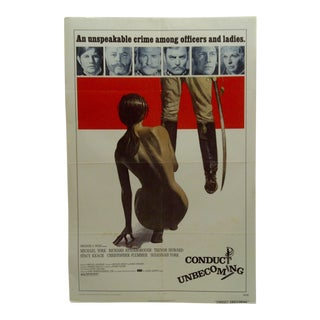 "Original ""Conduct Unbecoming"" Movie Poster For Sale"