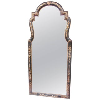 Late 20th Century Vintage Labarge Chinoiserie Framed Mirror For Sale