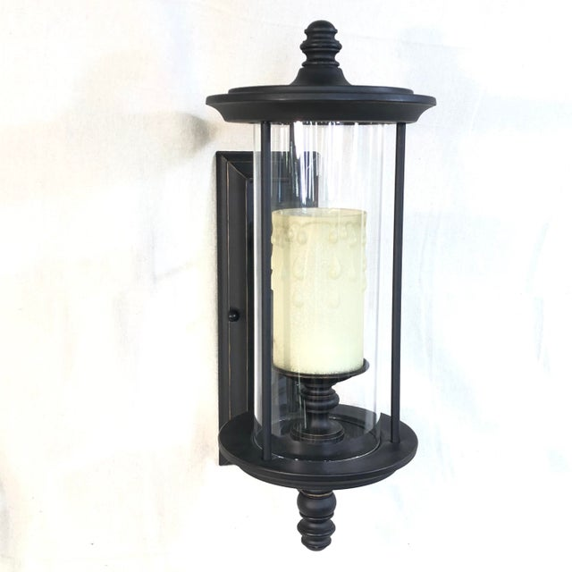 Savoy House Ch e 1-Light Outdoor Wall Lantern in English Bronze For Sale - Image 13 of 13