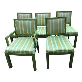 1970s Vintage Louis G Sherman Chairs - Set of 5 For Sale