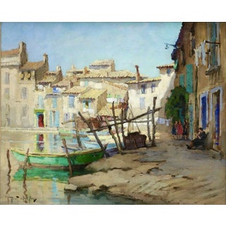 Impressionist Oil on Canvas Robert Chailloux (1913 - 2006) For Sale