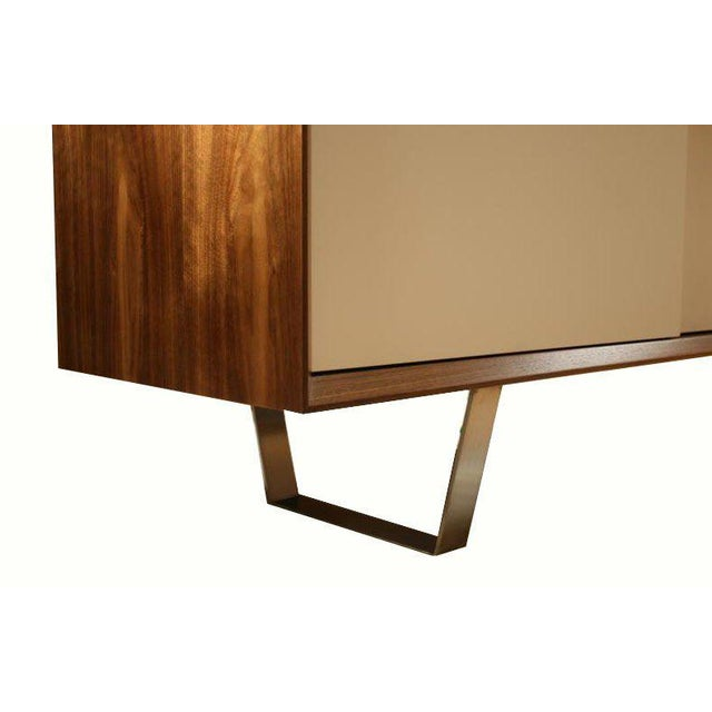 Modern Customizable Yoon Sliding Door Console For Sale - Image 3 of 10