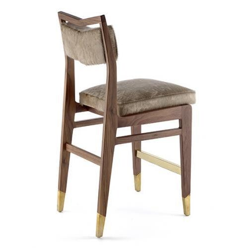 The Bruno Counter / Bar Stool is available in a variety of woods, stains and finishes as well as a variety of metals and...