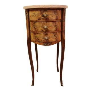 20th Century Italian Marble Top Side Table For Sale