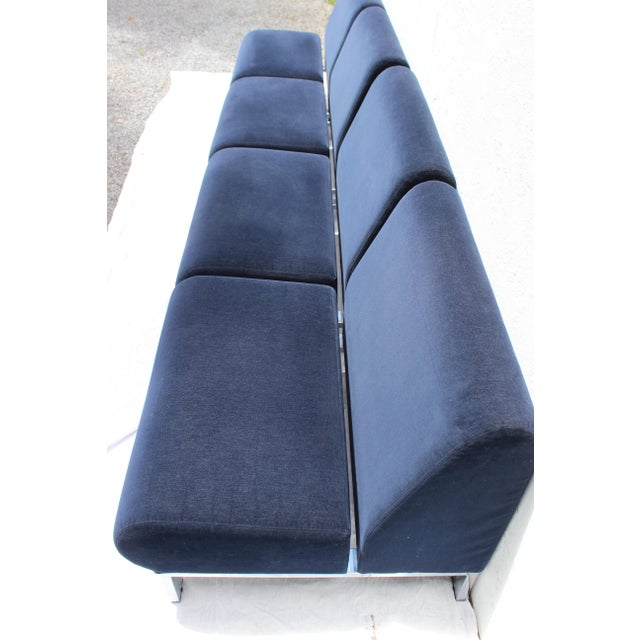 Mid-Century Modern Set of Four Mid-Century Modern Club Chairs For Sale - Image 3 of 13
