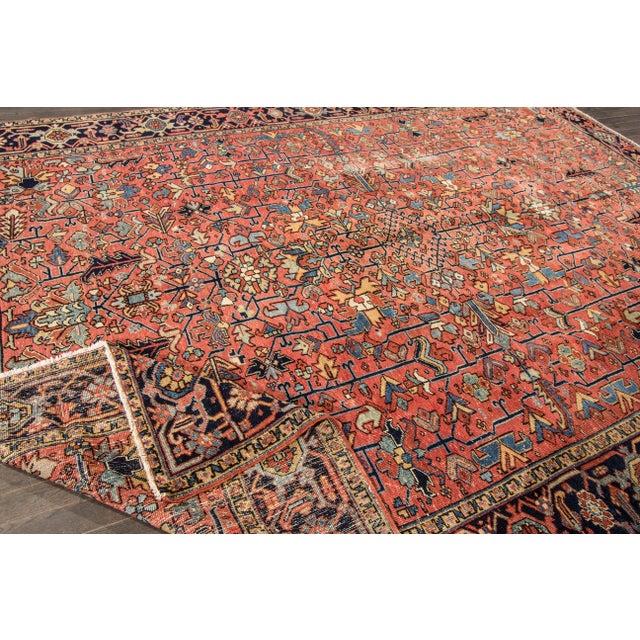 """Apadana - Vintage Persian Heriz Rug, 9'4"""" x 12'5"""" - Image 3 of 7"""