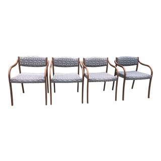 Mid-Century Modern Chairs- Set of 4 For Sale