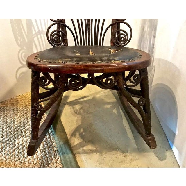 Heywood Wakefield Rocking Chair For Sale - Image 9 of 10