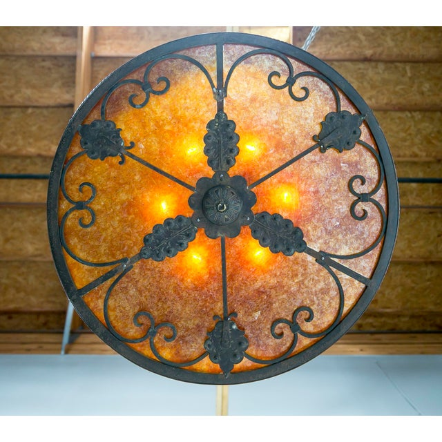 Mica Medieval Revival Chandelier - Image 3 of 11
