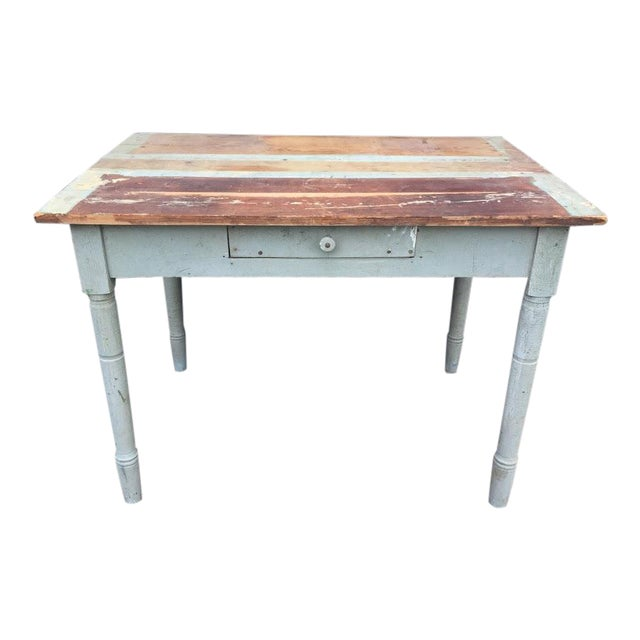 Distressed Farm Table For Sale