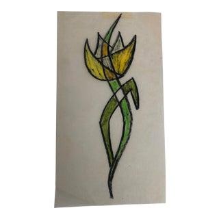 Mid-Century Modern Flower by Breedlove For Sale