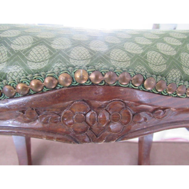 Antique Italian Carved Footstools - a Pair - Image 4 of 5