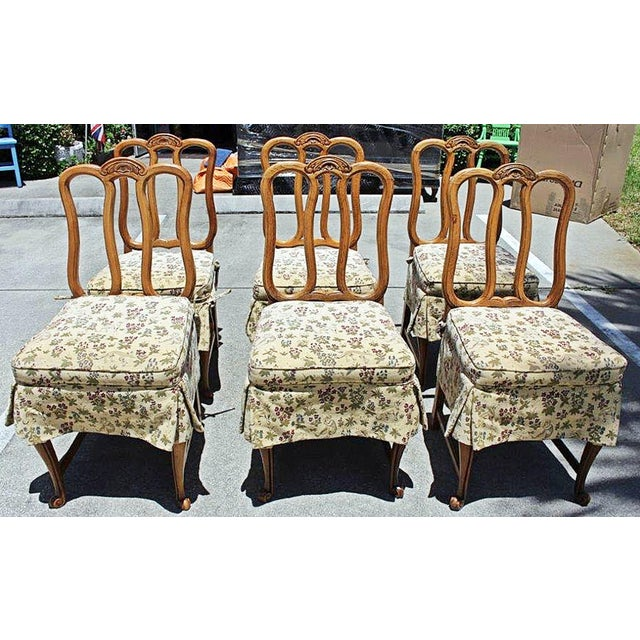 Set Of 6 Dining Chairs: French Dining Chairs - Set Of 6