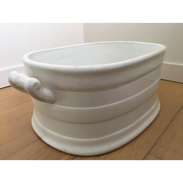 Large Ceramic Decorative Bowl - Image 5 of 8