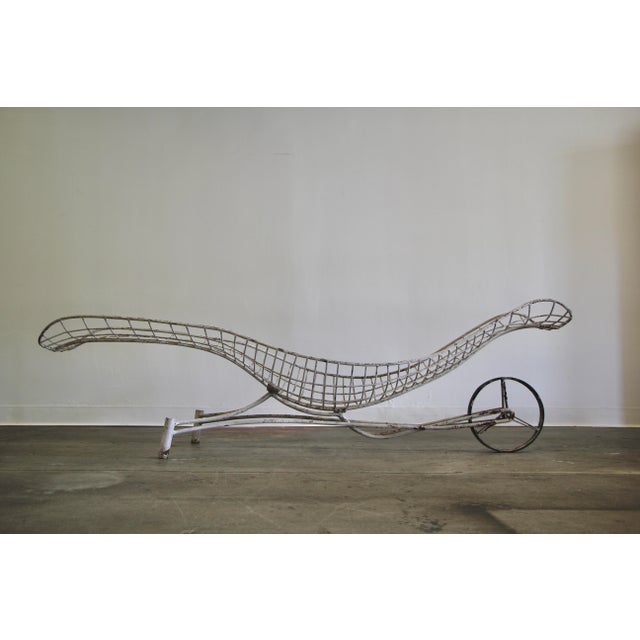 1950s Vintage Vladimir Kagan Capricorn Chaise Lounge For Sale - Image 11 of 12