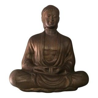 Ceramic Meditating Buddha Garden Art Statue