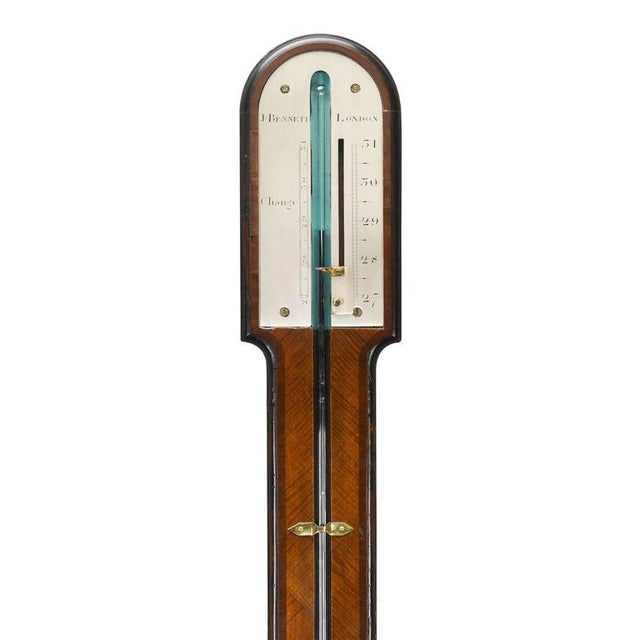 Georgian John Bennett Georgian Barometer For Sale - Image 3 of 4