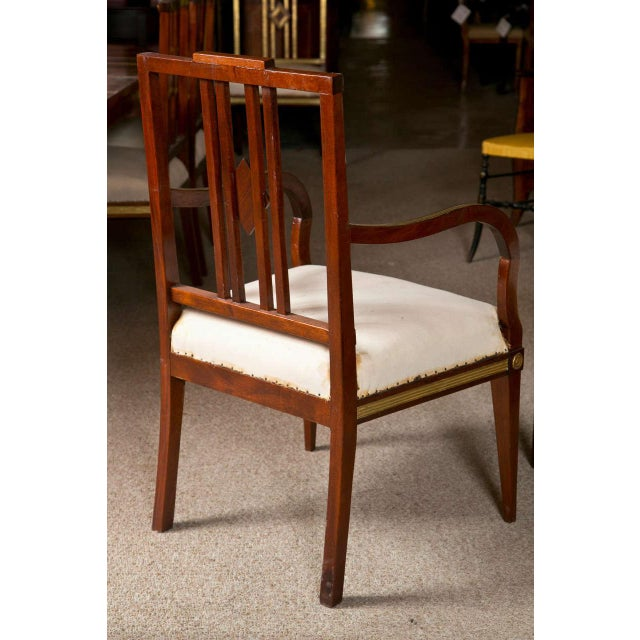 Russian Neoclassical Dining Chairs - Set of 11 For Sale In New York - Image 6 of 9