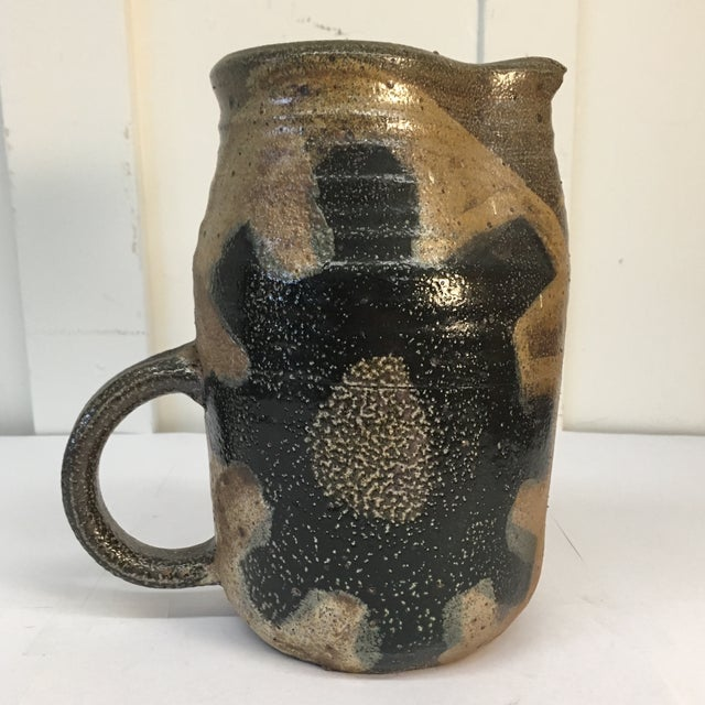 Vintage Hand Crafted Ceramic Pitcher - Image 3 of 8