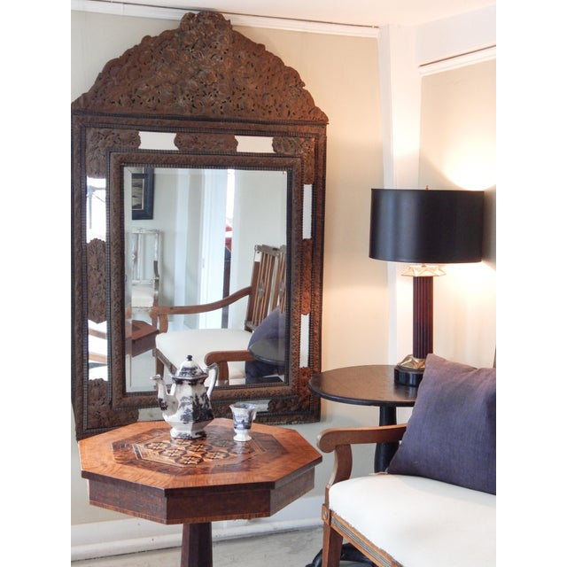 18th Century Dutch Baroque Mirror For Sale - Image 9 of 10