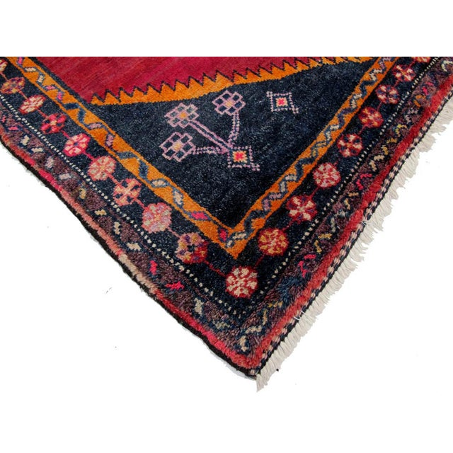 "Vintage Persian Lori Rug - 4'6"" x 6'4"" - Image 3 of 3"