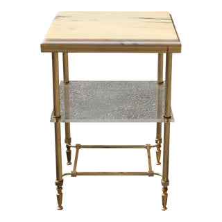 1940s Art Deco Maison Jansen Coffee or Side Table For Sale