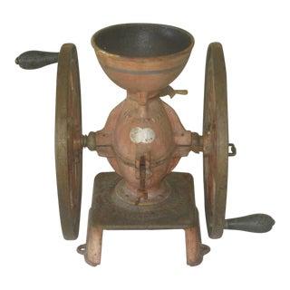 Antique Enterprise #5 Cast Iron Coffee Grinder For Sale