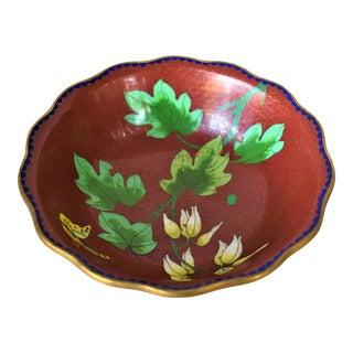 Vintage Asian Cloisonne Bowl For Sale