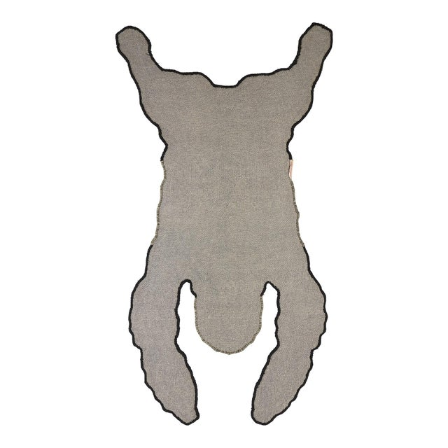 Bring some cheer to your room with this beautifully handmade Groovy Gorilla Rug Large. The Groovy Gorilla Rug Large is...