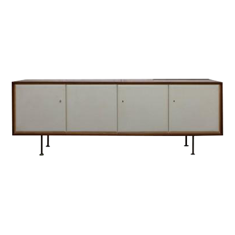 Exquisite Otto Schulz rosewood sideboard with tooled leather doors | DECASO  sc 1 st  Decaso & Exquisite Otto Schulz rosewood sideboard with tooled leather doors ...