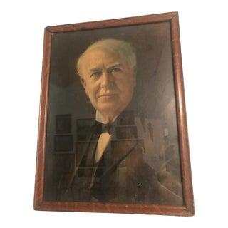 1930s Portrait of a Gentleman Print, Framed For Sale