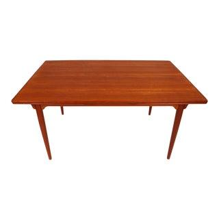 Vintage Danish Mid-Century Gunni Omann No.54 Teak Dining Table For Sale