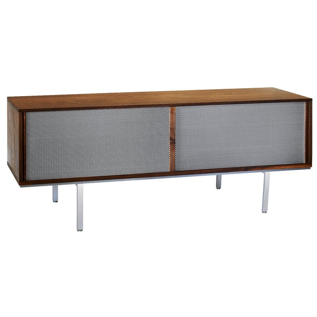 Symm Credenza with Perforated Metal Doors - Image 1 of 2