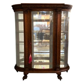 Image of Victorian China and Display Cabinets