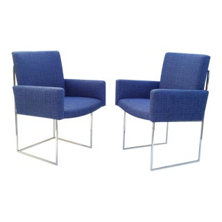 """Thin Line"" Dining Chairs by Milo Baughman for Thayer Coggin - Set of 8"