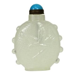 White Nephrite Snuff Bottle