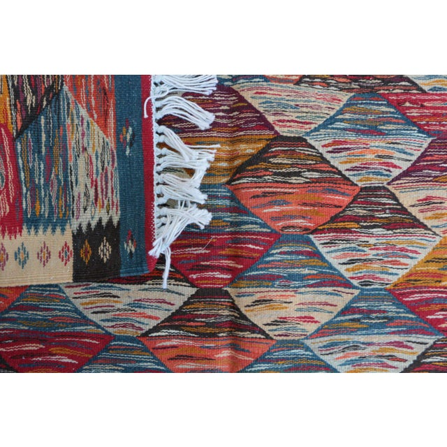 "Aknif Moroccan Rug - 3'6"" x 6'8"" - Image 4 of 4"