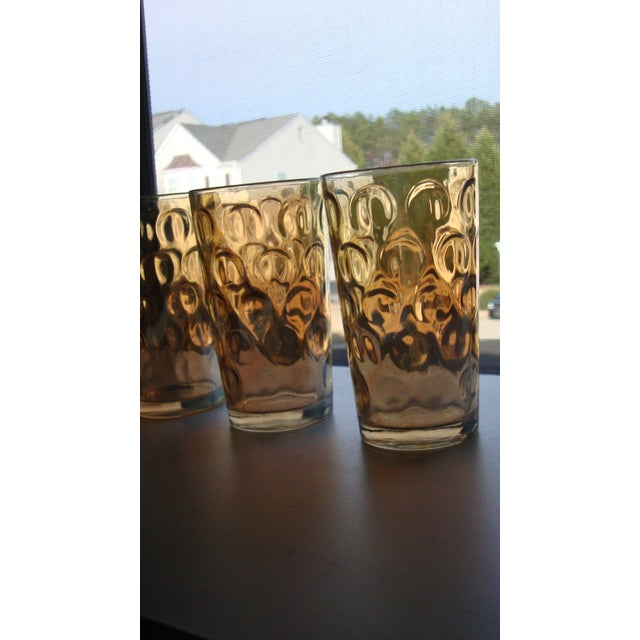 Mid-Century Hollywood Regency High Ball Glasses - Image 4 of 11