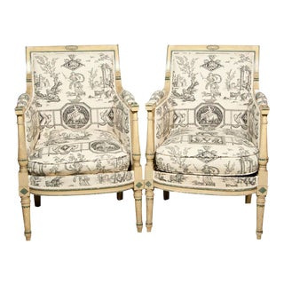 French Directorie Bergeres by Jansen - A Pair For Sale