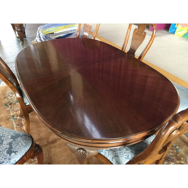 Councill Dining Room Set Table & Chairs For Sale In San Francisco - Image 6 of 12