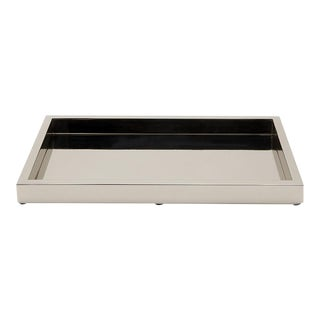 Luster Tray in Chrome For Sale
