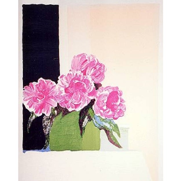 Roger Muhl Lithograph - Pivoines For Sale