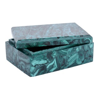 Malachite Box For Sale