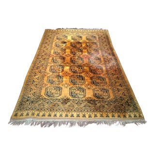 1950s Vintage Afghan Ersari Rug - 8′5″ × 12′10″ For Sale