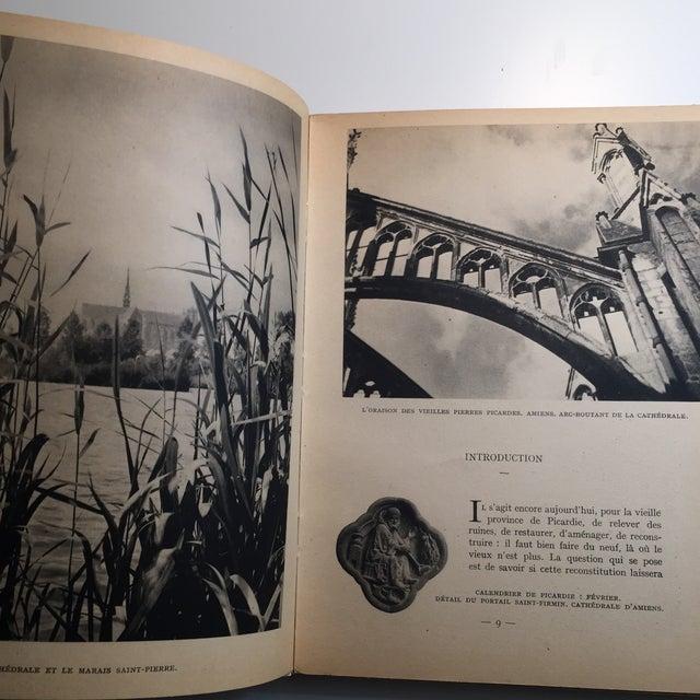 1943 Au Coeur De La Picardie Meurtrie Scarce Book For Sale - Image 4 of 11