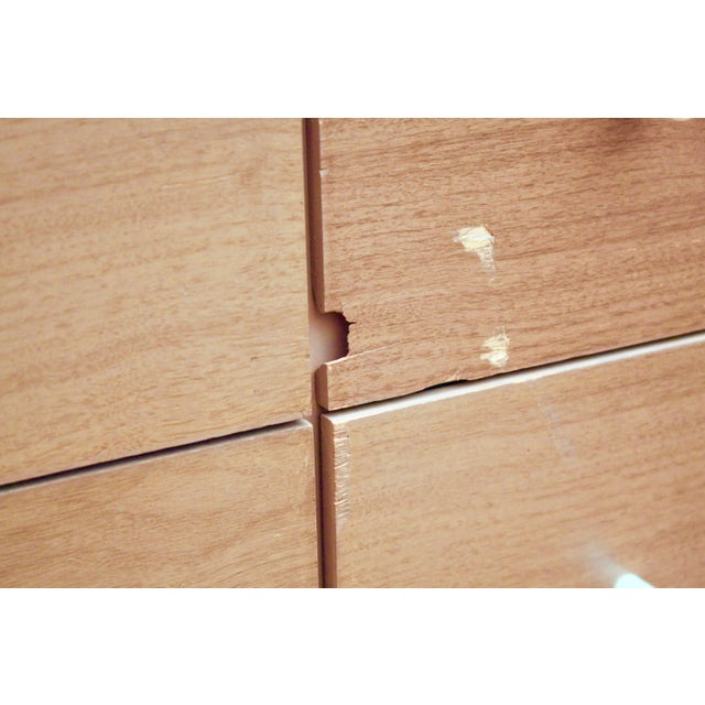 Midcentury Modern 6-Drawer Dressers, a Pair - Image 8 of 11