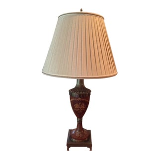 Maitland - Smith Painted Brass Lamp