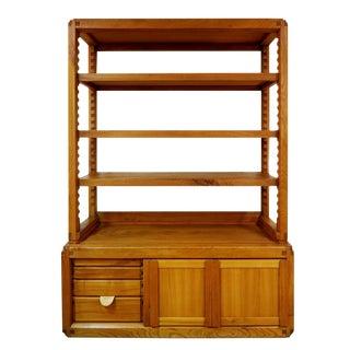 Elm Shelves by Pierre Chapo, Circa 1960 For Sale